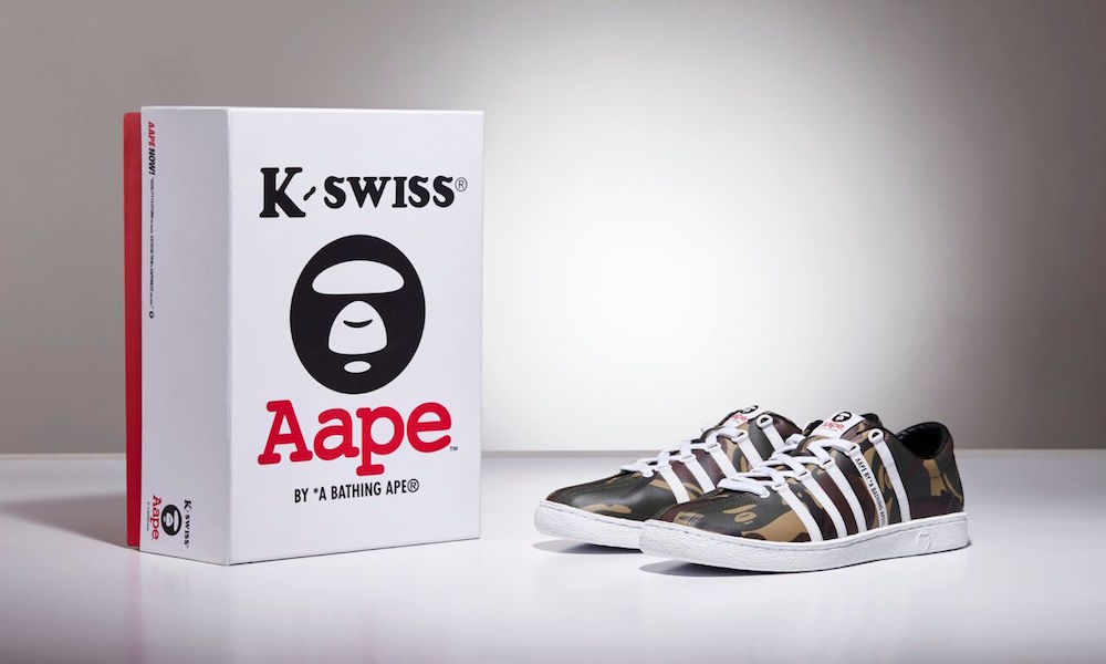 AAPE and K-SWISS