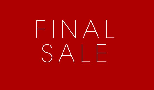 Финальная распродажа обуви