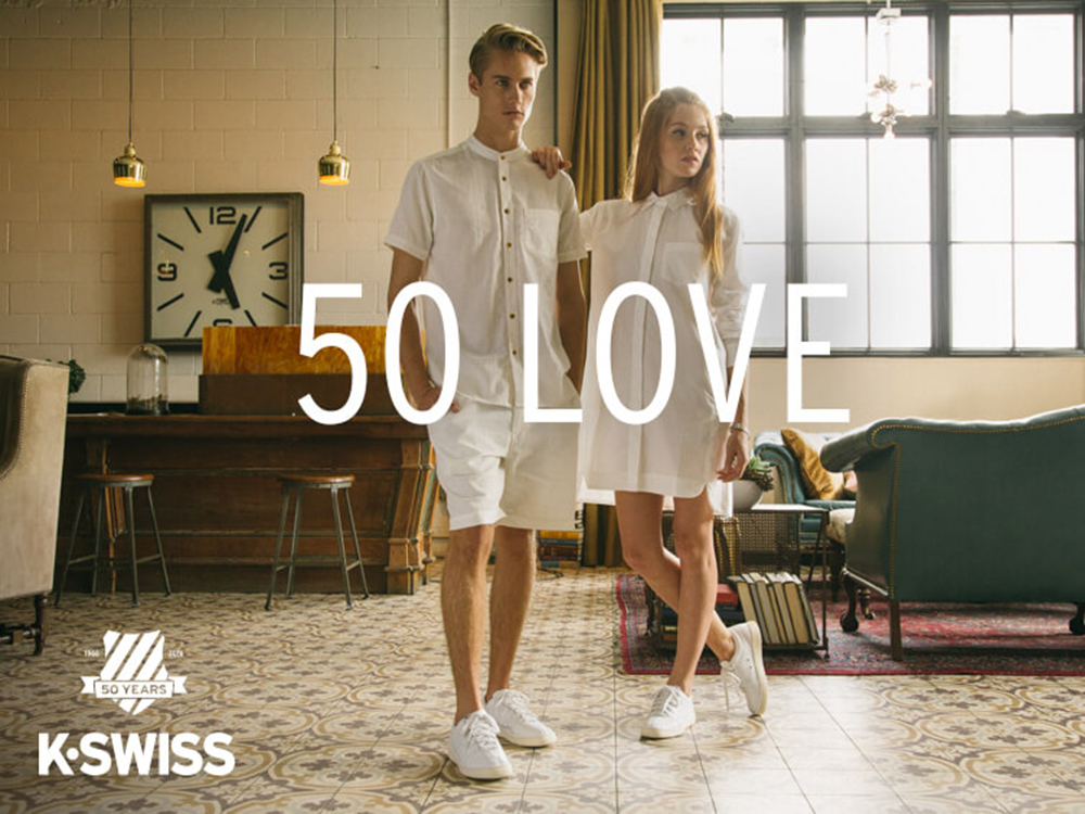 k-swiss 50 lookbook