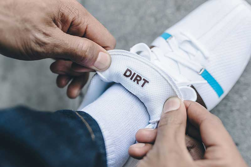 k-swiss clouds and dirt