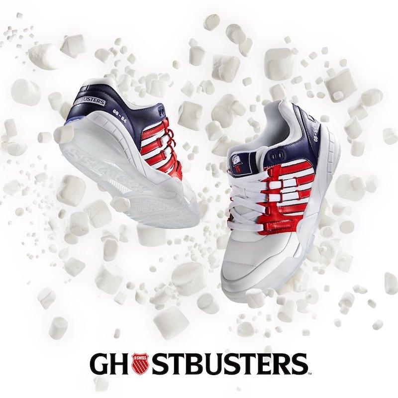 k-swiss x ghostbusters