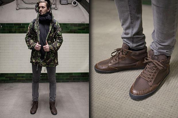 Новая коллекция мужской обуви HUB Осень-Зима 2014