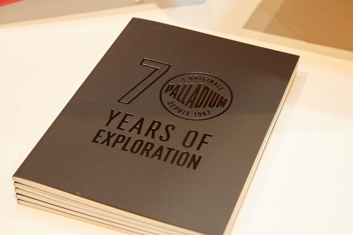 Palladium 70 years