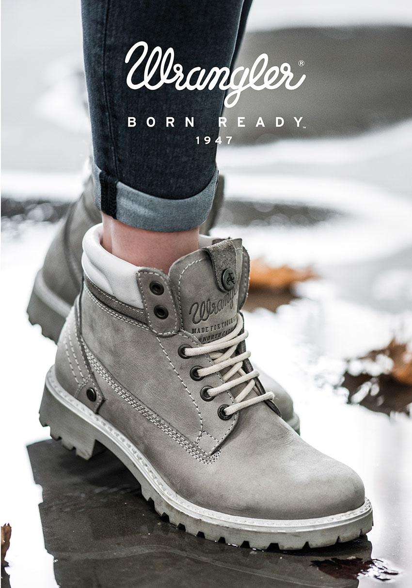 в Urban Step новая коллекция обуви Wrangler